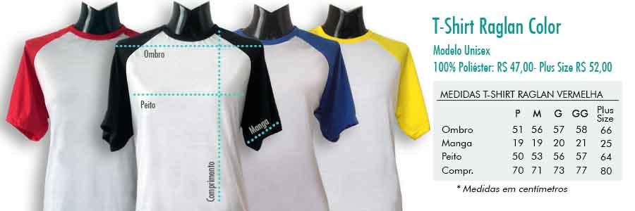 T-shirt Raglan Color