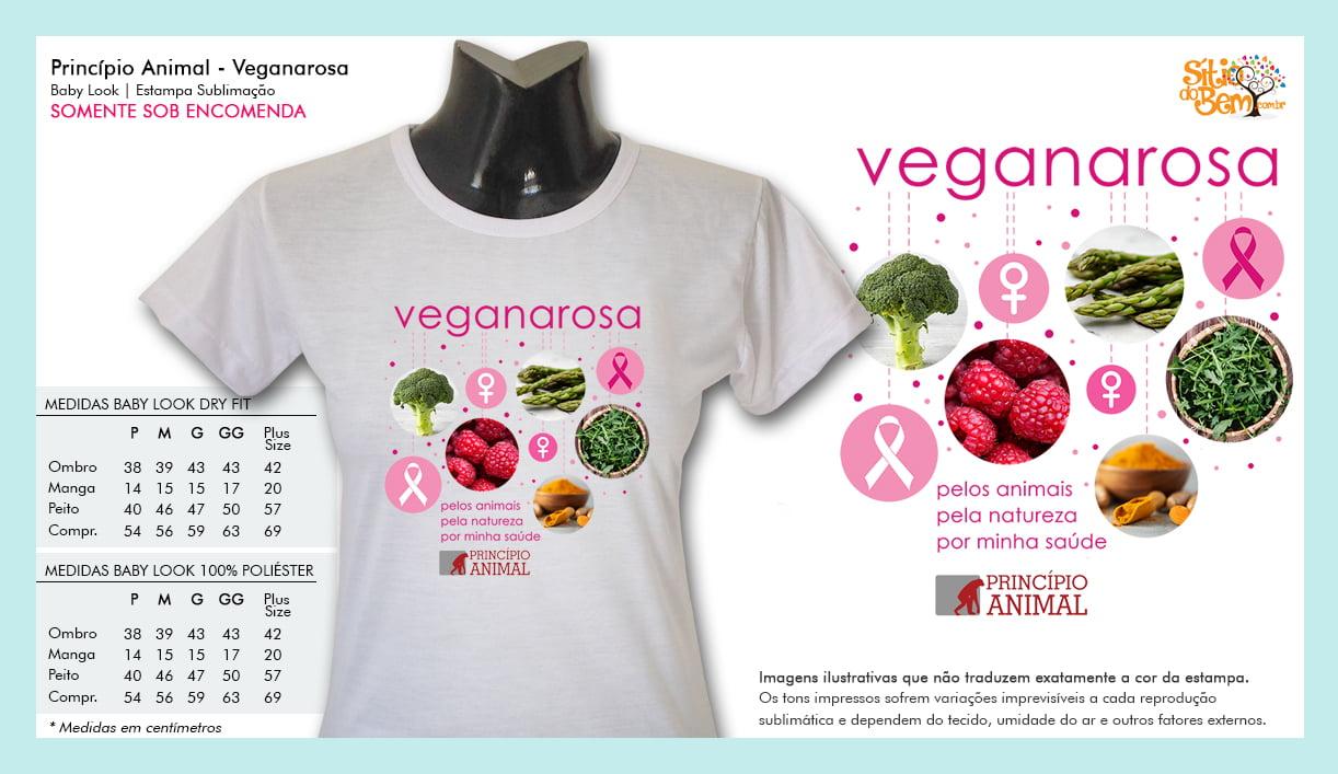 Camiseta Desenho Vegano | Veganarosa