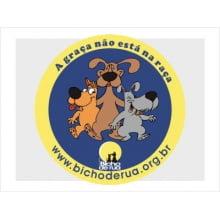 Adesivo | A graça não está na raça Cão