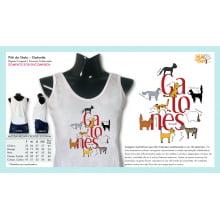 Filé de Gato | Camiseta com Desenho Gatonês