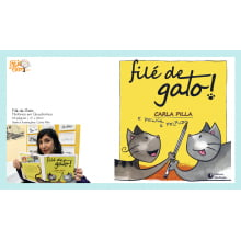 Livro com Histórias de Gatos | Filé de Gato