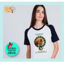 Camiseta Desenho Mata Atlântica | Bugio-ruivo