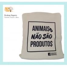 Ecobag Desenho Vegano | Animais Não São Produtos
