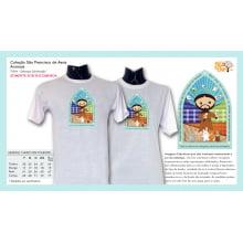 Camiseta com Desenho de São Francisco de Assis | Animais