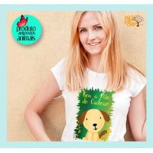 Camiseta com Desenho Sou a Mãe do Cachorro - Desenho