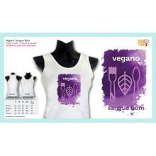 Camiseta com Desenho Vegano Sangue Bom