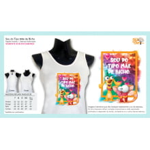 Camiseta da ONG Bicho de Rua | Sou do Tipo Mãe de Bicho