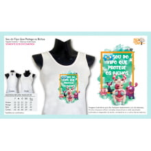 Camiseta da ONG Bicho de Rua | Sou do Tipo que Protege os Bichos