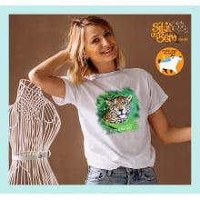 Camiseta Viva e Deixe Viver | Onça-Pintada | Jaguar
